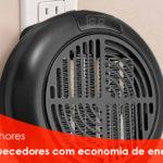 Os melhores aquecedores com economia de energia